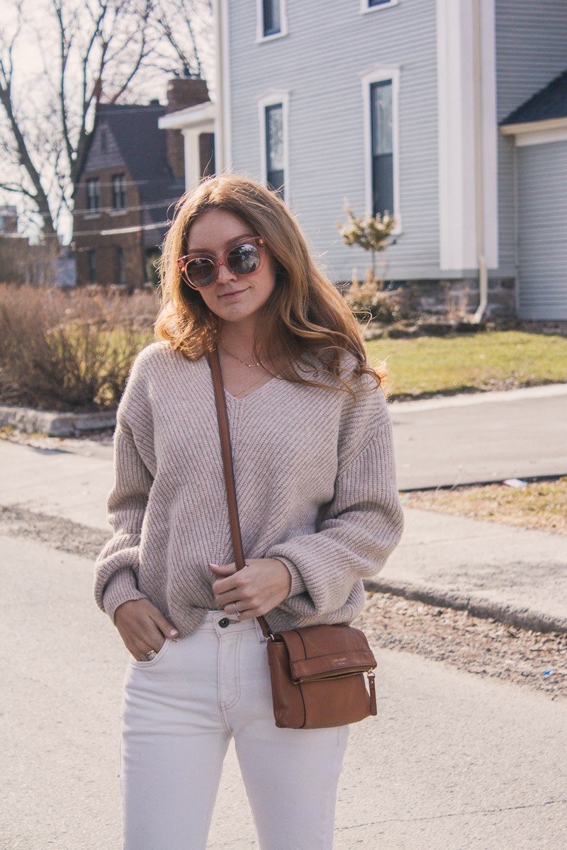 Tonal Dressing for Spring Outfit Ideas