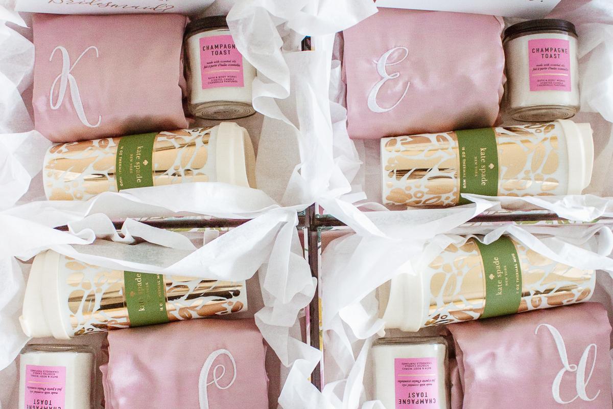 my bridesmaid boxes!!!