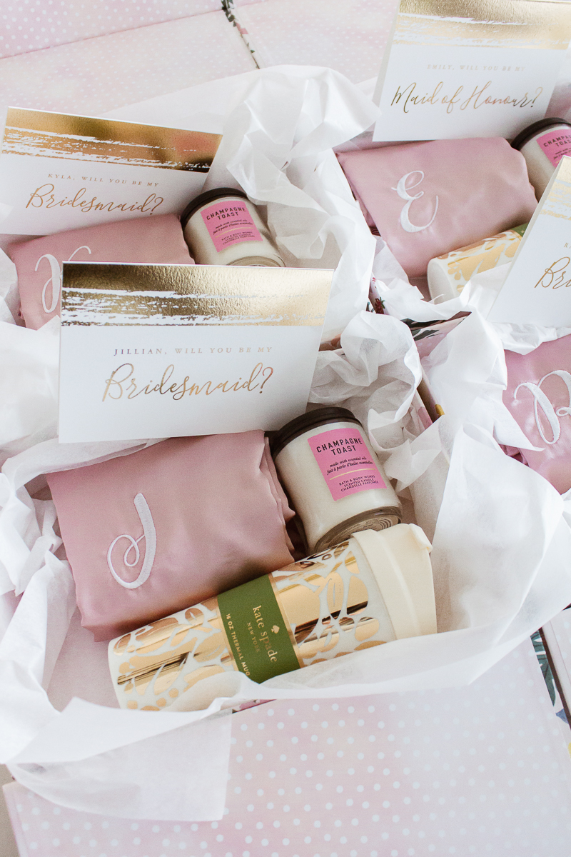 Bridesmaid Proposal Boxes Wedding Maid Of Honor