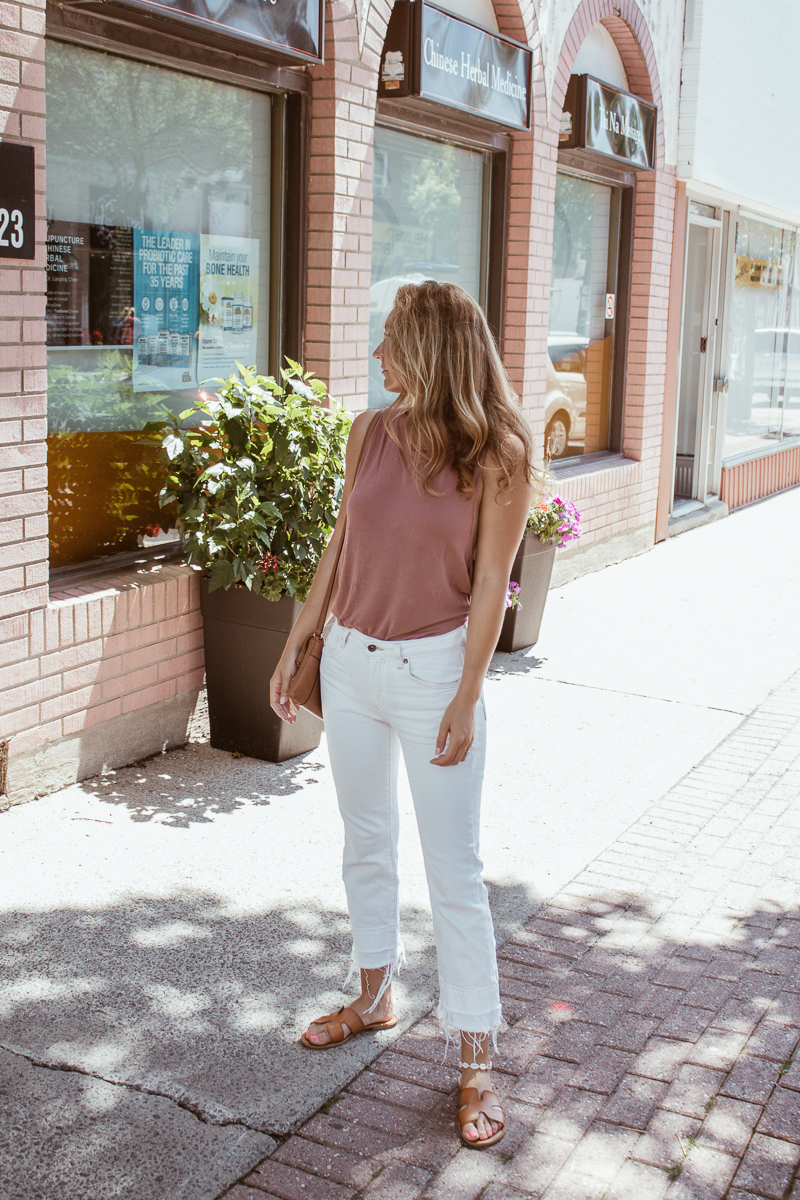 White Denim Summer Rewearing Items