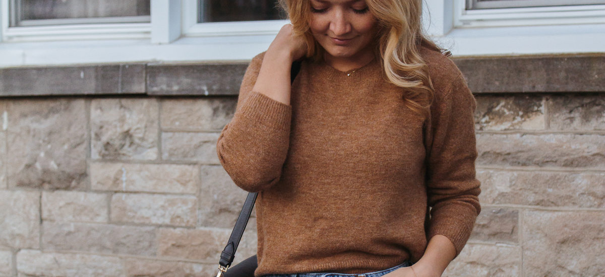 the perfect fall knit for $20