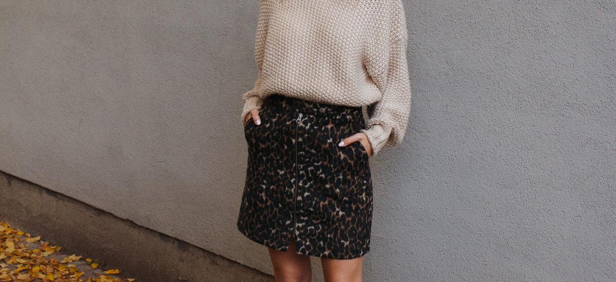 leopard skirt love