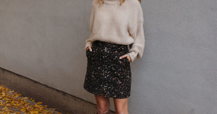 leopard skirt love