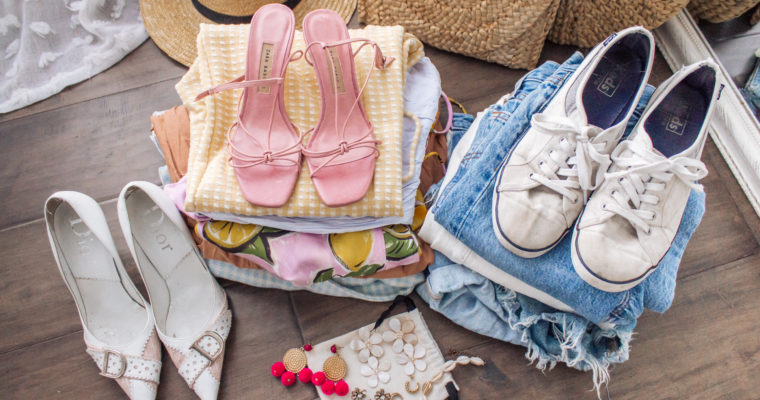 what I'm packing for my bachelorette + vacation!